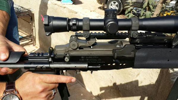 Weapons Seized by Jabhat al-Nusra